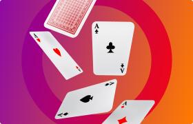 Cartes à jouer au casino