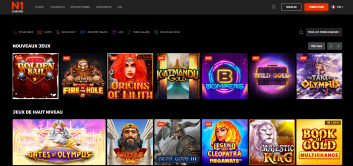 All Jeux N1 Casino