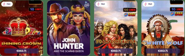Casino Wild Fortune Jeux